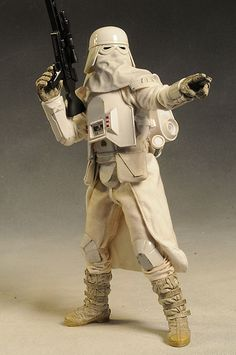 Snowtrooper Star Wars sixth scale action figure by Sideshow Collectibles: Star Wars Pictures, Star Wars Images, Star Wars Characters, Star Wars Episodes, Star Wars Toys, Star Wars Art, Figuras Star Wars, Star Wars Design, Star Wars Models