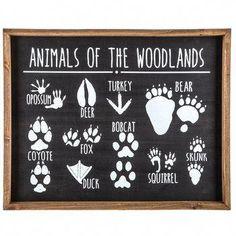 Animals of the Woodlands Wood Wall Decoration Boys Room Kids Decor Boy Room, Kids Room, Kindergarten, Diy Home, Home Decor, Art Decor, Decor Room, Kids Decor, Wall Decor Online