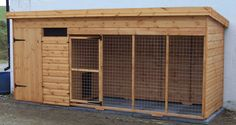 dog kennel designs | 12 x 4 kennel double kennel 12 x 4 5
