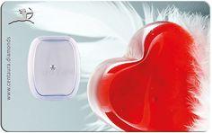 Centaura.Diamonds - Geschenkkarte - Herz