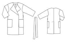 Картинки по запросу пальто оверсайз технический рисунок