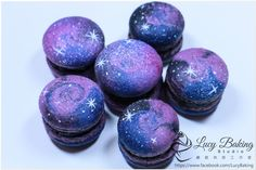 Star galaxy macaroons Cookie Connection