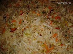 Domáca čalamádka Cabbage, Vegetables, Food, Essen, Cabbages, Vegetable Recipes, Meals, Yemek, Brussels Sprouts