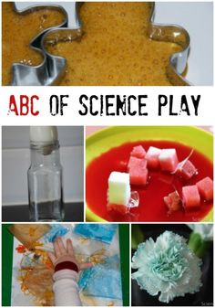 Fun and easy science play ideas for kids