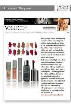 Vogue.com loves Arbonne!