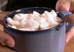 Homemade Marshmallows recipe from Alton Brown.