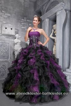 Black Gothic Corset Prom Ball Gowns - Devilnight.co.uk | Gothic ...