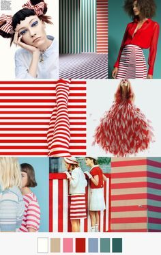 RED+ WHITE CANDY STRIPER patterncurator.org