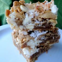 Island Cookie Bars Recipe | Just A Pinch Recipes