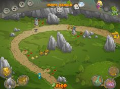 Buen juego donde tienes que hacer todo lo posible para que las criaturas no pasen a tu reino.  ►http://www.ispajuegos.com/jugar7841-Figa-Defender.html