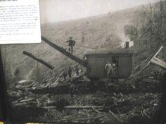 Workers Using a Barnhart Log Loader Along Freeman Run, Potter County