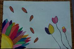 Watercolor. Flowers.