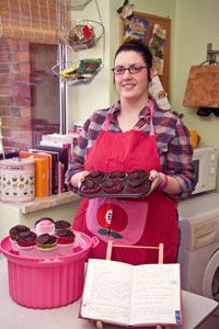 Anne Mann bringt viel.e Muffins an den Mann ... und natürlich auch an die Frau.
