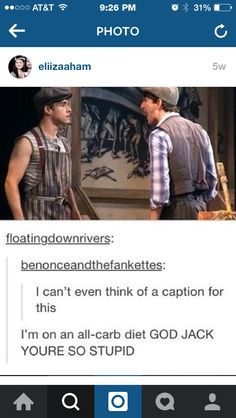 Language, but yes, this is Jack and Davey.
