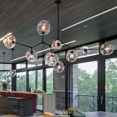 Aliexpress.com : Buy Lindsey Gorgeous hand blown glass globes and custom metal fitting a branch 9 lights molecular Irregular Hang glass chandelier from Reliable globe wood suppliers on Contemporary Store