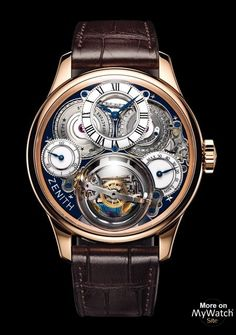 BASELWORLD 2015ZENITHCelebrating 150 years! Academy Christophe Colomb Hurricane Grand Voyage II  DISCOVERING AMERICA In tribute to the legendary explorer Ch...