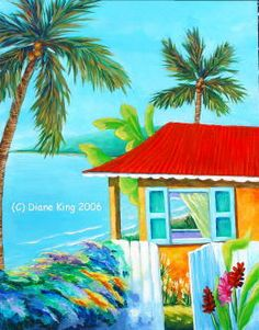 Paradise Cottage ~ Diane King