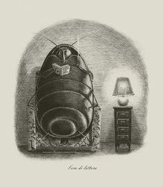 Blatte by Giulia Ghigini, Milan, Italy on Behance | Drawing | Graphic Design | Illustration | Drawing | Draw | Desenho | Ilustração |