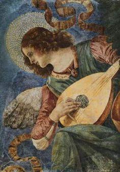 Melozzo da Forli Angel with lute 1422