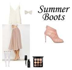 """""""Summer Boots #1"""" by anniejow-1 ❤ liked on Polyvore featuring MAC Cosmetics, Bobbi Brown Cosmetics, Anine Bing, Marieyat and Dolce&Gabbana"""