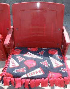Anaheim Angels Stadium Seat Cushion by CozyandSoft on Etsy, $25.00