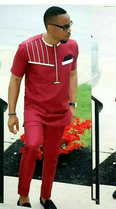 Ankara outfit for men/ african clothing for men/ ankara clothing for men/ African fashion for men. African Wear Styles For Men, African Shirts For Men, African Dresses Men, African Attire For Men, African Clothing For Men, African Men Style, African Outfits, Nigerian Men Fashion, African Men Fashion