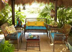 The Banyan Bay Collection is for outdoorsy types who appreciate global design