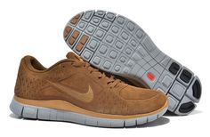 792d9debb5be authentic mens nike free run 3 5.0 laser bright brown gold b49be 6a6a6