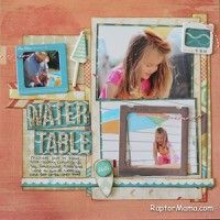 A Project by RaptorMama from our Scrapbooking Gallery originally submitted 07/22/13 at 08:24 AM