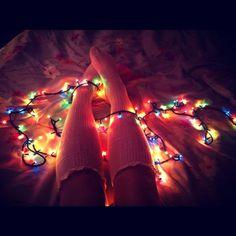Christmas lights ...beautiful #christmas #pretty #lights
