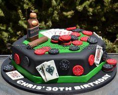 Poker cake @ Amarantos Las Vegas Cake, Poker Cake, Themed Cakes, Cake Designs, Party Planning, Party Themes, Cake Decorating, Food Porn, Birthday Cake