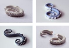 FITZROI — Some fimo earrings!