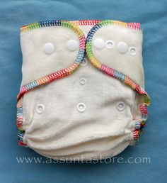 Assunta Store Tiny Bamboo Fitted Diaper