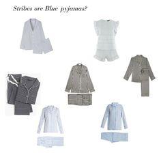 """Stribes ore blue pyjamas?"" by rikke-grankvist on Polyvore featuring Equipment, Olivia von Halle, J.Crew, Topshop, Gabriela Hearst and Derek Rose"