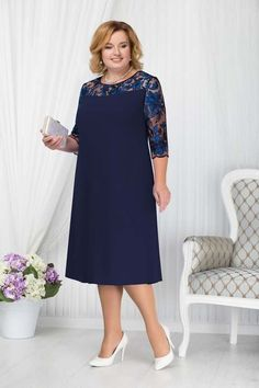 Elegant dresses and suits for obese women … Elegant dresses and suits for obese women of the Belarusian brand Ninele autumn 2018 Source link Modest Dresses, Simple Dresses, Elegant Dresses, African Fashion Dresses, Fashion Outfits, English Dress, Lace Dress Styles, Evening Dresses Plus Size, Dress Sewing Patterns