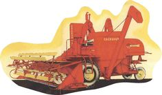 one of the first combines made.  A canadian company.  ahead of its time