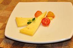 13e gang: fenegriek kaas met gecarameliseerde appel