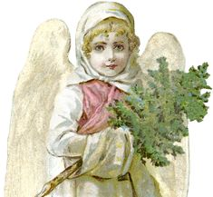 Free Victorian Angel Image – Beautiful!
