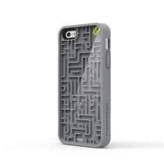 iPhone 5/5S A-Maze-Ing Case Gray, $17.20, now featured on Fab.  I don't even like IPHONES and I think this is cool