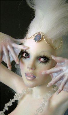 Arctic Crystal Mermaid OOAK by Nicole West | eBay