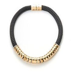 Classic Necklace Black, $159, now featured on Fab.