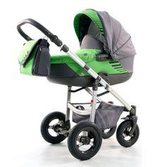 Kočárek Jumper Light plastová korbička, zelená Children, Kids, Baby Strollers, Jumper, Aqua, Fabric, Green, Kids Wagon, Young Children