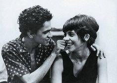Caetano Veloso e Gal Costa fotografados em 1967