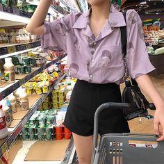 LILAC FACES PRINT LIGHT SHORT SLEEVE LOOSE BLOUSE #blouse #shirt #lilacblouse #loose #facesprint #ulzzang #southkorean #koreanfashion #kfashion #cuteclothes #kawaiiclothing #harajuku #aesthetic #aestheticclothing #aestheticclothes #aestheticapparel #aesthetics #tumblr #tumblrclothes #tumblroutfit #cuteclothing #outfitgoals #itgirlshop #itgirlclothing #aestheticaf #kstyle #koreanootd #asianfashion #aesthetictumblr #cutestyle #kawaiifashion #tumblrgoals #grungefashion #pastelaesthetic #softgrunge