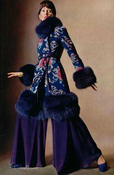 Marc Bohan for Christian Dior, Fall 1970.