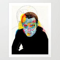 Andres Art Print by Alvaro Tapia Hidalgo - $20.00