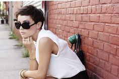 Pixie + sunglasses
