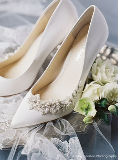 cbe739d337ad 3D Floral Luminous Pearls and Ivory Beads Wedding Pump. Bella Belle Shoes. Wedding  PumpsBridal ...