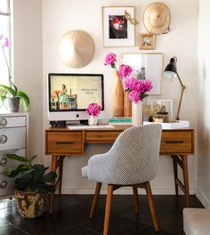 Share Tweet Pin Mail I've been lusting after a beautiful home office space for rather a long while now. But so much more so ...