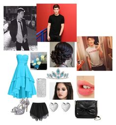 """""""After Party With Shawn Mendes!!!☺️❤️!!       By:Nicole"""" by puppylover920071 ❤ liked on Polyvore featuring Rainbow Club, Sam & Libby, Charlotte Tilbury and Links of London"""